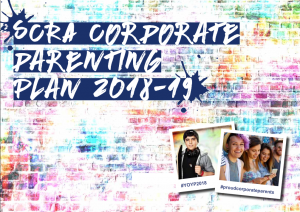 SCRA corporate parenting plan 2018-19